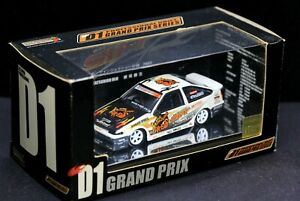 Hot Works 1/64 D1 GP Drift 2003 Sift Toyota AE86 Trueno Katsuhiro Ueo