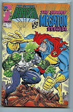 Image comics Savage Dragon vs Megatron #1 Signed Erik Larson nm/m 1991 H33