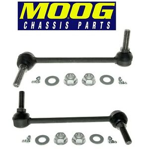 For Chrysler 300 Dodge RWD Pair Set of 2 Front Sway Bar Links Moog K80822 K80823