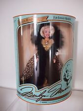 Marilyn Monroe Doll Limited Edition Dsi 1993 Fur Fantasy - Nrfb Nib #07408