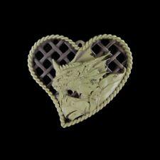 Carved Dragon Through-Carve Bead Hc408026