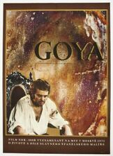 Abstract Movie Poster Goya 1971 Graphic Design Large A1 70s Cinema Art