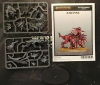 Warhammer 40K Daemons Khorne Karanak Herald Wrath Rapture AoS Age Sigmar Chao