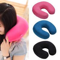 U Shaped Pillow Memory Foam Neck Head Car Flight Travel Nursing Cushion Nurse