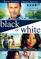 Black Or White DVD (2016) Kevin Costner, Binder (DIR) cert 12 ***NEW***