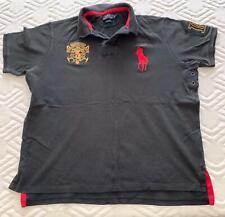 Ralph Lauren Custom Fit XXL Black Short Sleeve Polo Shirt