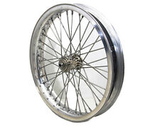 """ALLOY 18"""" WR Spool Hub FRONT WHEEL for Harley 45 Track Race Bikes"""
