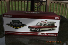 GREENLIGHT 1:18 1966 CADILLAC AMBULANCE(PRECISION MINIATURES)- HIGHTOP - NEW