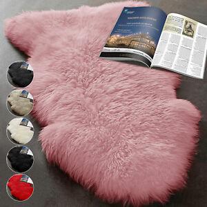 Modern Extra Large Soft Fluffy Faux Fur Sheepskin Rug Warm Floor Carpet Mat UK