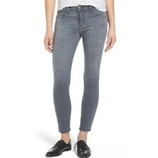 Current Elliot The Stiletto Skinny Ankle Jeans Grey Gray Leopard Sz 28