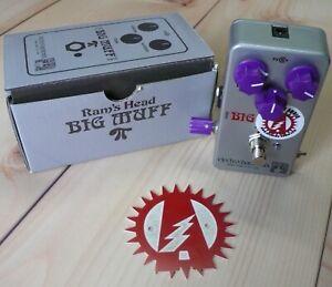 Alchemy Audio modified Electro-Harmonix Big Muff Ram's Head reissue Fuzz