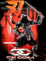 Blue Box BBi 1:6 Cy Com Series Fireblade GI Joe Henshin Ninja Assassin MIB Rare