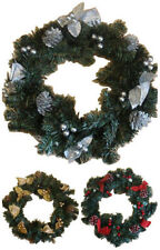 Ghirlande, corone e fiori natalizi abete