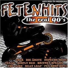 Fetenhits-The real 90s Ärzte, Cure, Toten Hosen, US 3.. [2 CD]