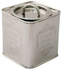 Charming Aluminium Storage Canisters - Sugar
