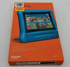 "New Amazon Fire 7 Kids Edition 7"" 16GB Tablet Blue -SB1689"