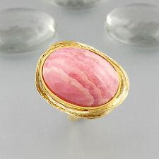 Ring Rhodochrosit 585/14k Gelbgold