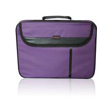 """De 15,6 """" con pantalla ancha de Bolso Para Laptop Notebook Carry Funda Correa de hombro púrpura"""