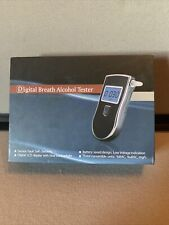 Digital Breath Alcohol Tester Battery Saver BAL LCD Breathalyzer