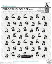 Docrafts Xcut planche de gaufrage 15.2x15.2cm Cerises Usage sizzix eBosser