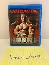 Kickboxer [Blu-ray] with Van Damme 1989 Widescreen 1080P