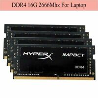 For Kingston HyperX Impact 16GB 32GB 64GB 2666MHz DDR4 PC4-21300 CL15 SODIMM RAM