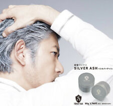 Vivid One Japan Silver Ash 1-Minute Hair Color Wax 80g/2.7oz trendy danny gray
