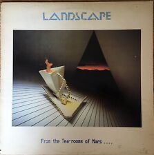 """Landscape  """"From The Tea-Rooms Of Mars .."""" RCALP 5003 A3/B3 UK 1st 1981 + inner"""