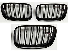 BMW E71 X6 X6M Kidney Grill Grille Grills Gloss Black Twin Bar M Style 2007+