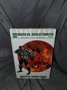 Avengers vs New Ultimates Death of Spider-Man Marvel HC Hard Cover