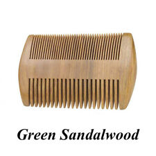 Beard Comb Green Sandal Wood Grooming Kit Pocket Nature Wooden Hair Comb General