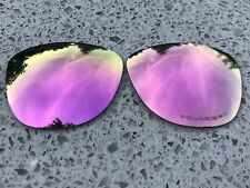 ETCHED POLARIZED ROSE PINK MIRRORED REPLACEMENT OAKLEY FROGSKINS LENSES