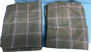"""Coming Home Stone Green Standard Flannel Pillow Case 22x32"""" Set of 2 ~New"""