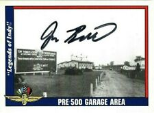 Jon Beekhuis signed 1991 LEGENDS OF INDY trading card INDY RACING CART #21