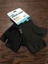 Women's  Jillian Michael's Workout  Gym Gloves Xl  X Large w/ Wrist Straps.