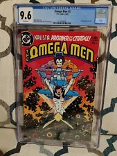 OMEGA MEN (1983 Series) #3 - CGC Graded 9.6 - First Lobo - White Pages