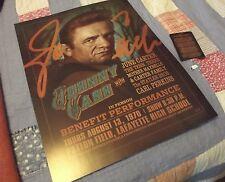 44th Anniversary Commemorative Johnny Cash Concert in GA POSTER & GUITAR PICK