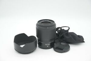 Nikon 50mm Z F/1.8 S Nikkor Lens AS NEW Condition