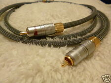 "Schmitt Custom Audio Locking RCA Interconnects 40"" 1pr"