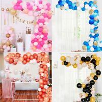 107pcs Latex Balloon Arch Garland Kit Wedding Birthday Party Baby Shower Decor