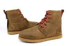 UGG For Men Boots Harkley Waterproof Leather / Wool Grizzly US Size 10