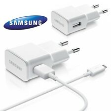 Samsung ETA-U90EWE Adaptateur Chargeur Secteur Cable Pour Galaxy J1 (SM-J100H)