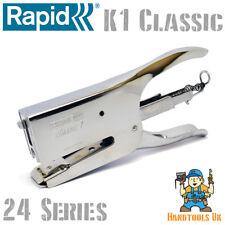 Rapid K1 Classic Agrafeuse à pince pour 24/6-8mm Agrafeuse pince/agrafeuse 10510601