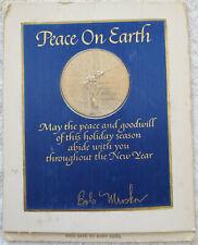 Vintage 1967 Viet Nam (Tet) era Franklin Mint Peace Medal Series Limited Ed
