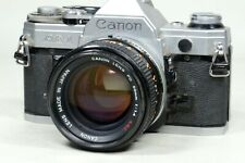 Canon AE-1 camera with 50mm f1.4 SSC Lens and EXTRAS!!!