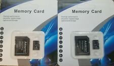 TWO (2X) 2TB MICRO SD SDXC CARD WITH ADAPTER