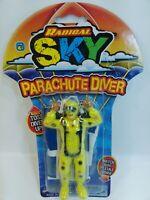 Ja-Ru Radical Sky Parachute Diver -  Color Yellow Brand New Sealed