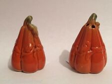 Cracker Barrel Mini Salt and Pepper Shaker Set Pumpkins Gourds