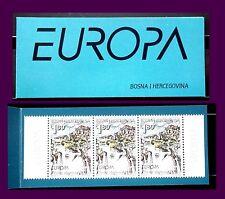 TEMA EUROPA. 2001 BOSNIA HERZEGOVINA CARNET EL AGUA