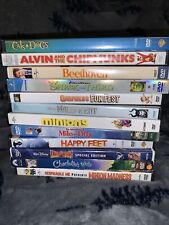 DVD Movies lot of (13) CHILDREN YOUNG ADULT TEEN-Maleficent Minions Happy Feet